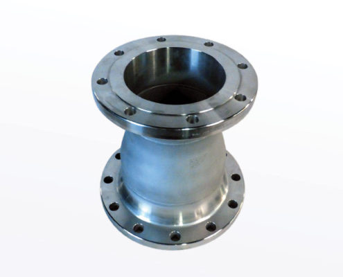 Flanged Concentric Reducer With RF/WN Flanges