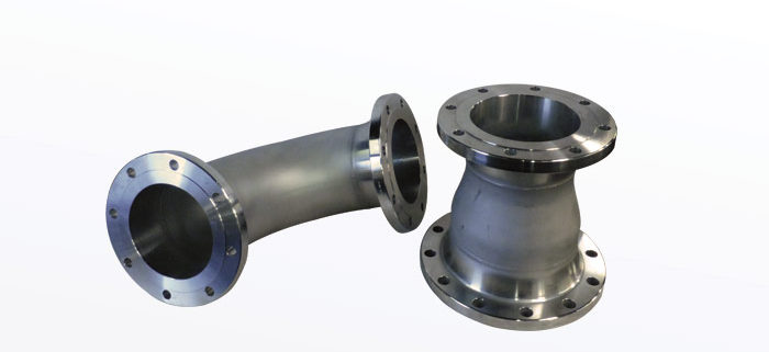 STAINLESS STEEL 90 DEGREE LONG RADIUS ELBOW  CONCENTRIC REDUCER WITH 150 RAISED FACE WELD NECK FLANGES