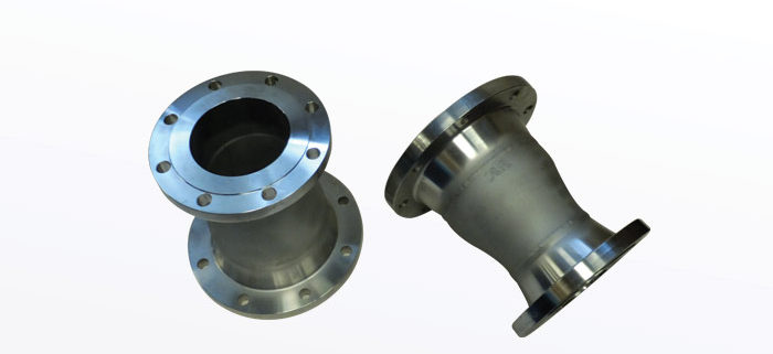 STAINLESS STEEL CONCENTRIC REDUCERS WITH 150 RAISED FACE WELD NECK FLANGES