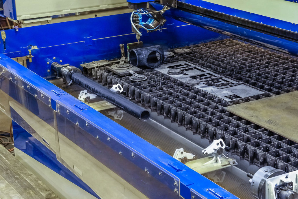 Six-Axis Waterjet Cutting For Pipe Fittings | United States