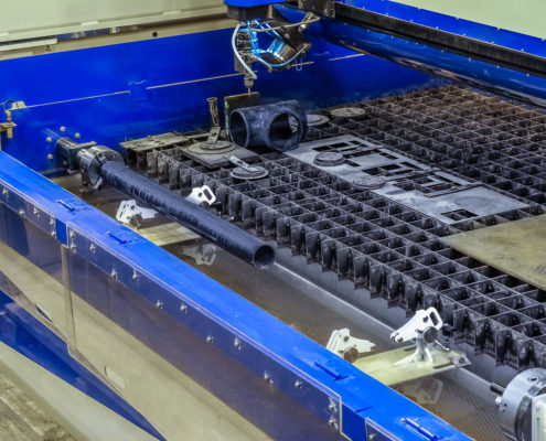 US-Fittings—Waterjet for Custom Pipe Fittings
